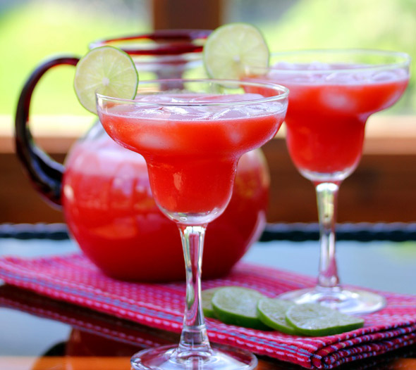 The Perfect Strawberry Margarita