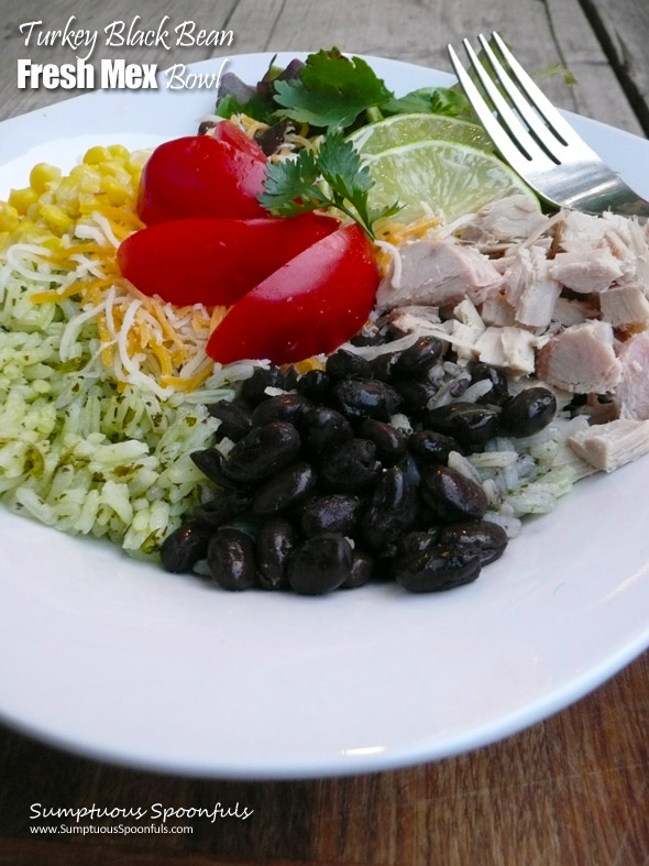 Turkey Black Bean Fresh Mex Bowl