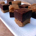 Peanut Butter Cup Fudge ~ Sumptuous Spoonfuls #easy #chocolate #peanutbutter #microwave #fudge #recipe