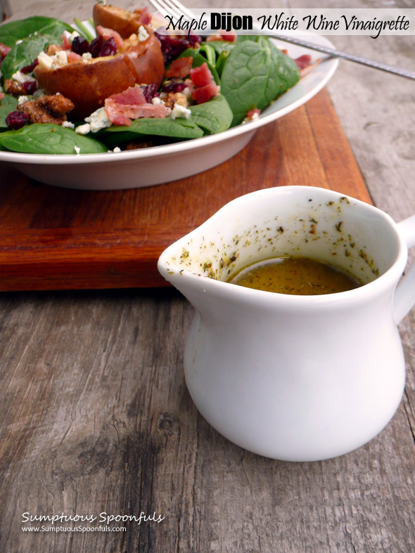 Maple Dijon White Wine Vinaigrette
