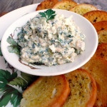 Creamy Feta Chicken Artichoke Dip & Induction Cooking with Swiss Diamond Cookware ~ Sumptuous Spoonfuls #hot #creamy #chicken #feta #artichoke #dip #recipe