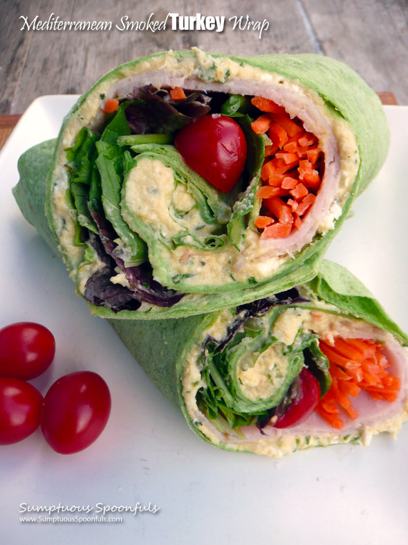 Mediterranean Smoked Turkey Wrap