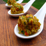 Asian Broccoli Carrot Rice Balls ~ Sumptuous Spoonfuls #vegetarian #rice #recipe