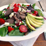 Pot Roast Avocado Salad ~ Sumptuous Spoonfuls #cookonceeattwice #salad #recipe