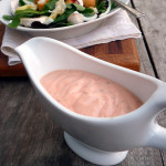 Sriracha Ranch Yogurt Dressing ~ Sumptuous Spoonfuls #light #healthy #spicy #creamy #salad #dressing #dip