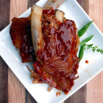 Melt In Your Mouth Baked BBQ Ribs ~ Sumptuous Spoonfuls #easy #pork #ribs #recipe
