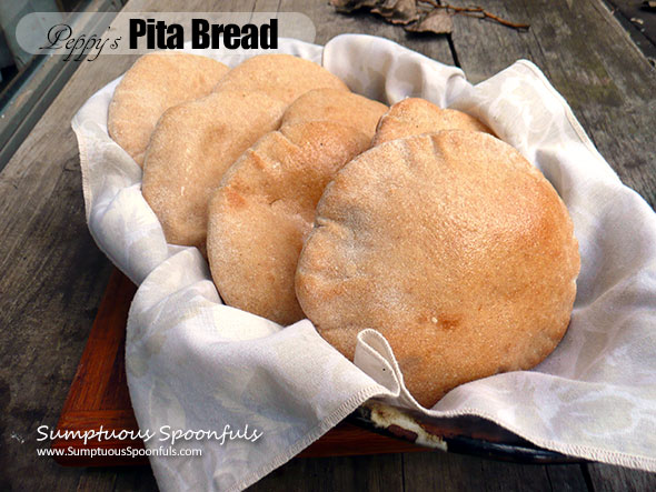 Peppy's Pita Bread {Bread Machine Recipe}