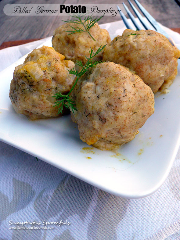 Dilled German Potato Dumplings