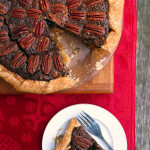 Chocolate Chipotle Pecan Pie ~ Sumptuous Spoonfuls #decadent #pecan #pie #recipe