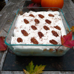 Pumpkin Maple Amaretto Trifle ~ Sumptuous Spoonfuls #easy #pumpkin #dessert #recipe