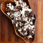 Bacon Chocolate Chipotle Popcorn ~ Sumptuous Spoonfuls #sweet #spicy #popcorn #gift #recipe