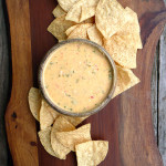 Epically Creamy Jalapeno Queso Dip ~ Sumptuous Spoonfuls #creamy #Mexican #queso #dip #recipe