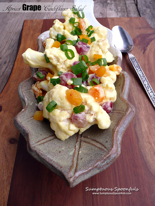 Apricot Grape Cauliflower Salad