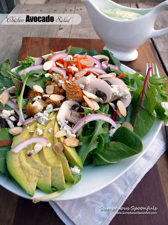 Chicken Avocado Salad Sumptuous Spoonfuls