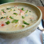 Irish Seafood Chowder ~ Sumptuous Spoonfuls #Irish #Seafood #Soup #Stew #Recipe