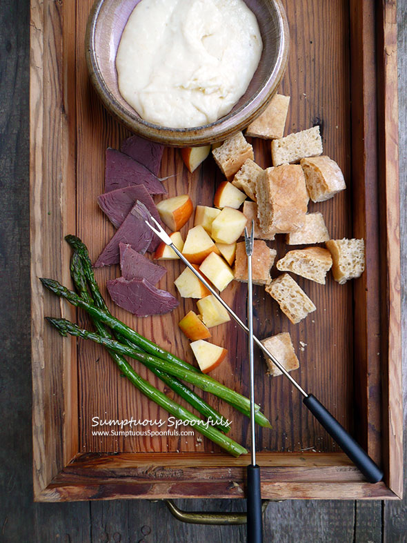 Tyler's Amazing Cheese Fondue