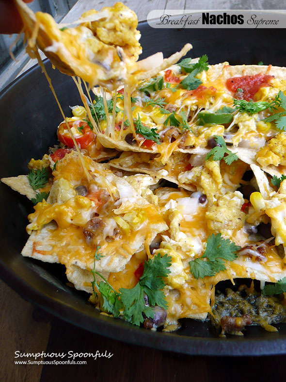 Breakfast Nachos Supreme