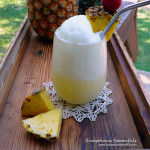 Hawaiian Fizz ~ Sumptuous Spoonfuls #cocktail #mocktail #coconut #pineapple #drink #recipe