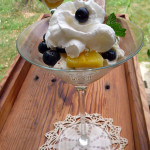 Pineapple Blueberry Cloud Parfaits ~ Sumptuous Spoonfuls #light #fruity #summer #dessert #recipe