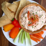 Spicy Devil Creole Shrimp Dip ~ Sumptuous Spoonfuls #spicy #shrimp #dip #recipe