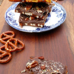 Pretzel English Toffee ~ Sumptuous Spoonfuls #dessert #candy #ImperialSugar