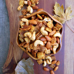 Spicy Smoky Salt-Free Chex Mix ~ Sumptuous Spoonfuls #healthy #snackmix #recipe