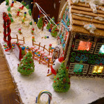 Ski Resort Gingerbread House ~ Sumptuous Spoonfuls step-by-step #gingerbread #house