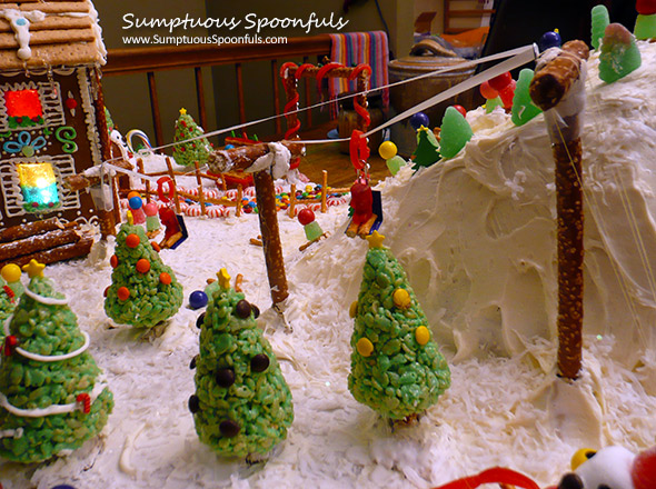 Gingerbread ski area - ski lift