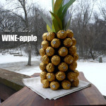 How to make a WINEapple ~ Sumptuous Spoonfuls #Chocolate #Wine #Pineapple