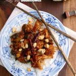 Kung Pao Cauliflower | Sumptuous Spoonfuls #Chinese #cauliflower #recipe