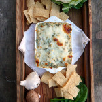 Secretly Skinny Spinach Artichoke Dip ~ Sumptuous Spoonfuls #superhealthy #powerfood #dip #recipe