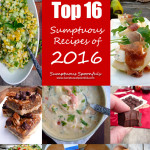 Top 16 Sumptuous Recipes from 2016 ~ Sumptuous Spoonfuls #Bestof2016 #Recipes