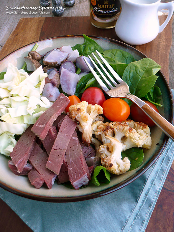 Corned Beef & Cabbage Salad