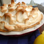 Lemon Blueberry Meringue Pie ~ Sumptuous Spoonfuls #pie #recipe #Pi #PiDay
