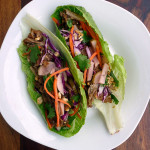 Pork Banh Mi Lettuce Wraps ~ Sumptuous Spoonfuls #Vietnamese #Asian #pork #recipe
