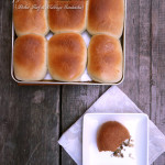 Copycat Nebraska Runza Pocket Sandwiches ~ Sumptuous Spoonfuls #beef #cabbage #sandwich #recipe