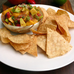 Sue's Amazing Peach Avocado Salsa ~ #easy #fruit #avocado #salsa #recipe