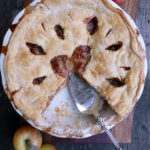 Limoncello Apple Pie ~ Sumptuous Spoonfuls #apple #pie #recipe