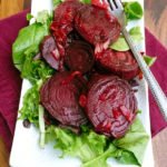 Caramelized Roasted Beets ~ Sumptuous Spoonfuls #beet #recipe