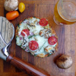 Spinach Artichoke Sun-dried Tomato Pizza ~ Sumptuous Spoonfuls #pizza #recipe