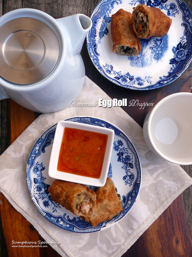 Homemade Egg Roll Wrappers 23 Ways To Use Them Sumptuous Spoonfuls